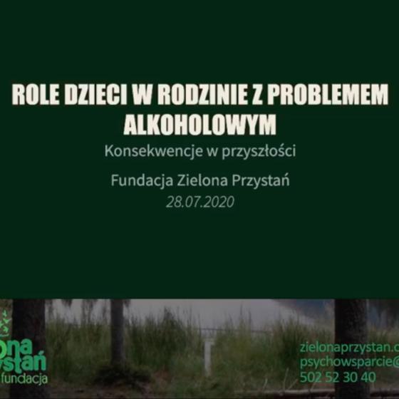 Sprawozdanie z  działań profilaktycznych i interwencyjnych dla młodych ludzi w trakcie Pol'and'Rock Festiwal 2020 w sieci